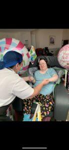 Birthdays at Crick Care Home in Caldicot
