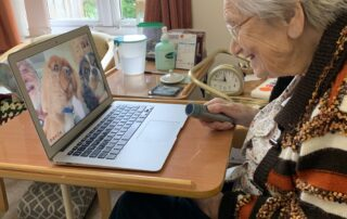 Staying Connected at Crick Care Home in Caldicot