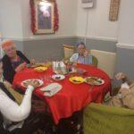 Christman Dinner at Firs Nursing Home in Taunton