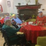 Christmas Dinner at Firs Nursing Home in Taunton