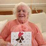 Christmas Cards at Firs Nursing Home in Taunton