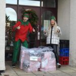 Christmas Gifts from Asda at Firs Nursing Home in Taunton