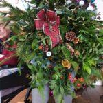 Wreath Making at Firs Nursing Home in Taunton