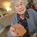 Gingerbread Man decorating at Firs Nursing Home in Taunton