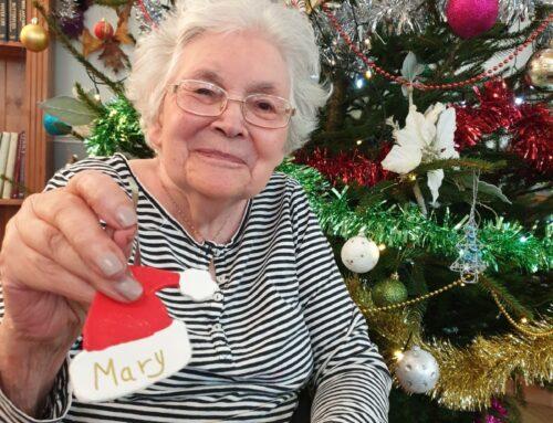Christmas at Firs Nursing Home in Taunton