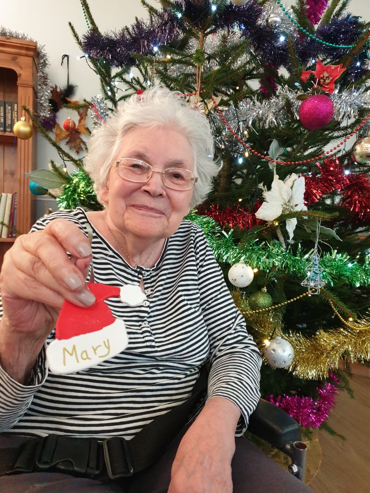 Christmas wishes at Firs Nursing Home in Taunton