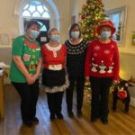 Colleagues at Crick Care Home in Monmouthshire