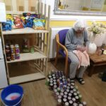 Helping hands Valentines Crafts The Firs Care Home in Taunton, the heart of Somerset