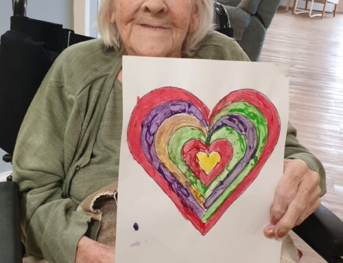 January at The Firs Care Home in Taunton, the heart of Somerset.