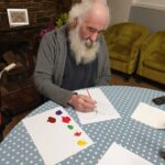 Valentines Crafts The Firs Care Home in Taunton, the heart of Somerset