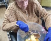 Baking at The Firs Residential Nursing Home in Taunton