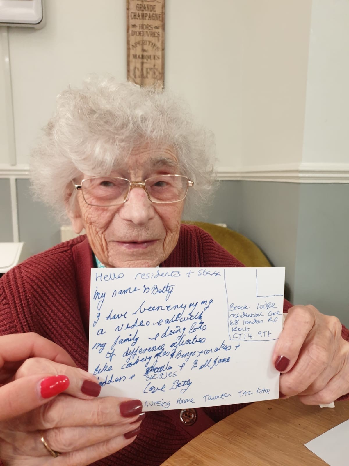 postcardsofkindness at The Firs Residential Nursing Home in Taunton