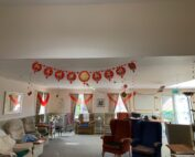 Chinese New Year at Crick Care Home in Caldicot