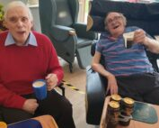 Nice drop of Guinness at The Firs Nursing and Care Home in Taunton