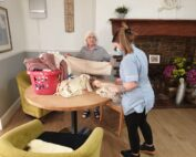 Laundry at The Firs Nursing and Care Home in Taunton