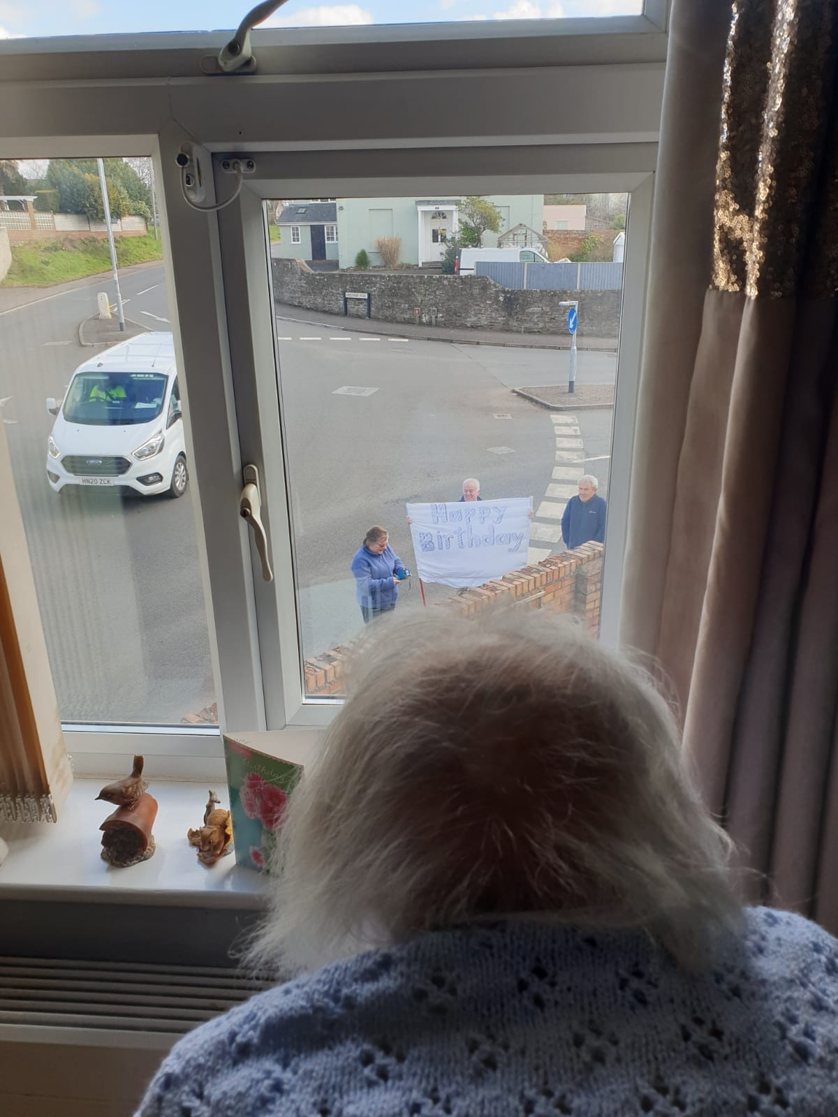 Birthday Surprize at The Firs Nursing and Care Home in Taunton