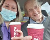 Coffee stop at The Firs Nursing Home in Taunton