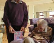 Birthdays at The Firs Nursing Home in Taunton