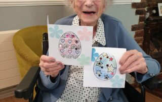 Easter at The Firs Nursing home in Taunton