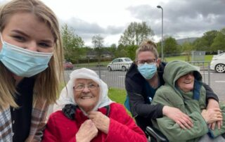 Days out at Llanyravon Court Care Home in Cwmbran