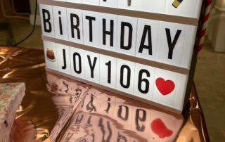 Birthdays at Crick Care home in Caldicott