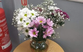 Lovely Flowers at Llanyravon Court Care Home