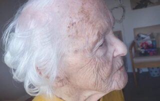 Beautiful curls at Llanyravon Court Care Home