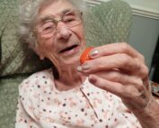 Homegrown strawberries at The Firs Nursing Home in Taunton