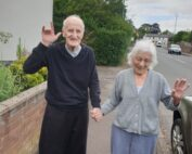 Little walk out and about at The Firs Nursing Home in Taunton